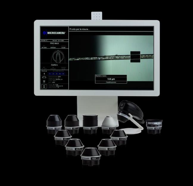 Kamera do badań włosów MicroCAMERA HD